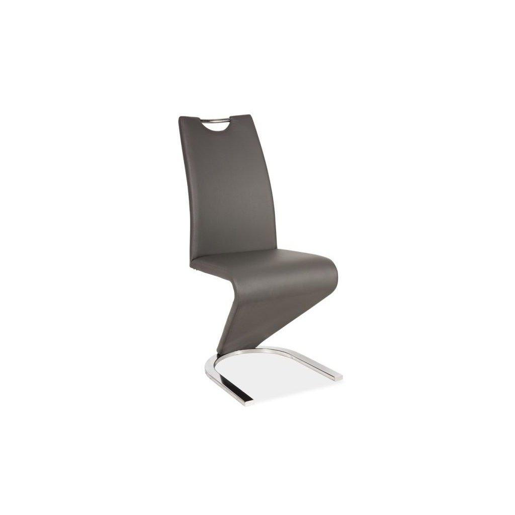 Jedálenská stolička:   H-090 sivá
