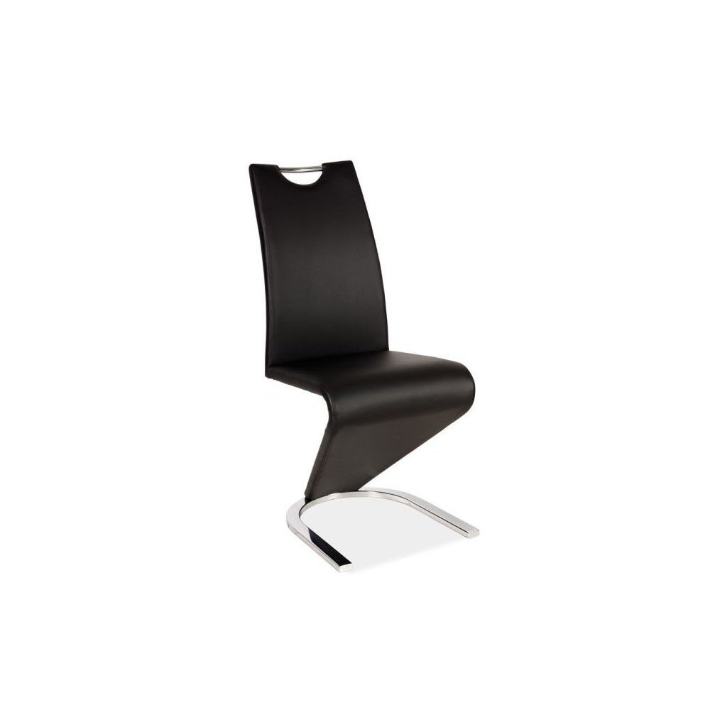 Jedálenská stolička:   H-090 čierna