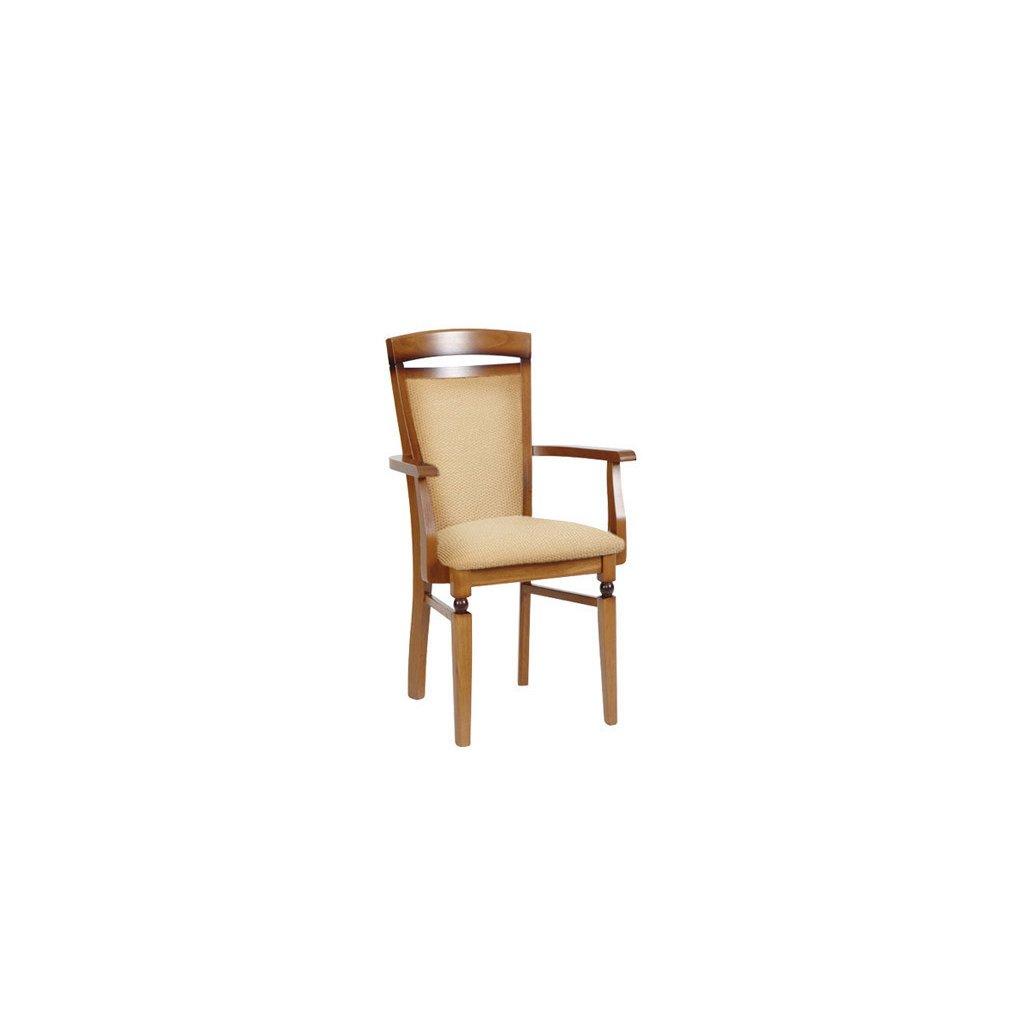 Jedálenská stolička s podrúčkami: BAWARIA - DKRS_P