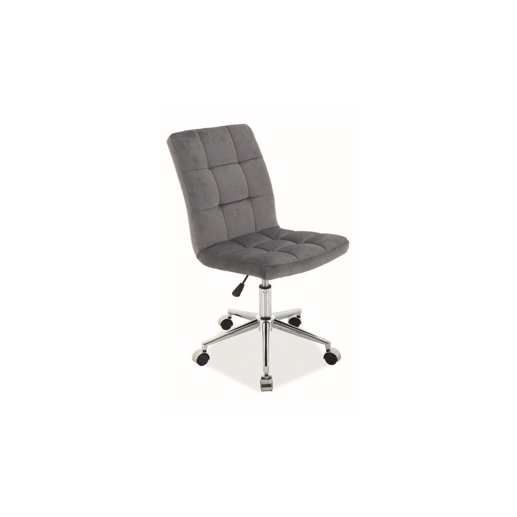 Otáčacia stolička:   Q-020 VELVET
