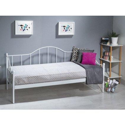 Kovová posteľ:   DOVER s roštom