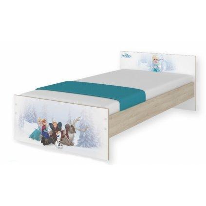 BabyBoo Detská junior posteľ Disney 180x90cm - Frozen + šufík