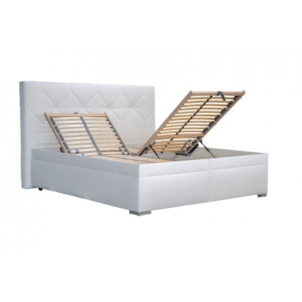 Manželská posteľ: GELA 180x200 (bez matracov)
