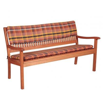 Sedák na lavici 2 sedadlá 110x45cm