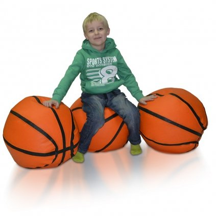 Sedací vak Basketball - L