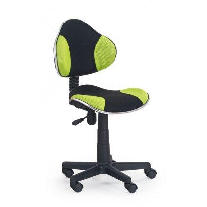 Stolička QZY-G2 čierno-zelená
