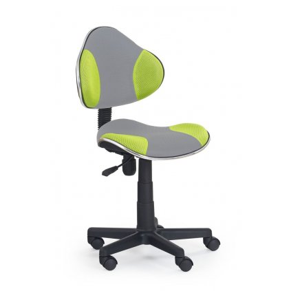 Stolička QZY-G2 šedo zelená