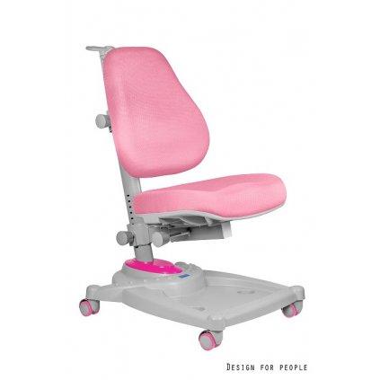 Detská PC stolička Eddy - ružová