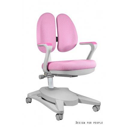 Detská PC stolička Paddy - ružová
