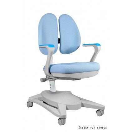 Detská PC stolička Paddy - modrá