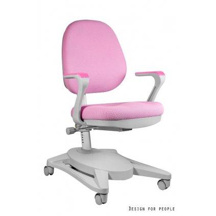 Detská PC stolička Gabby - ružová