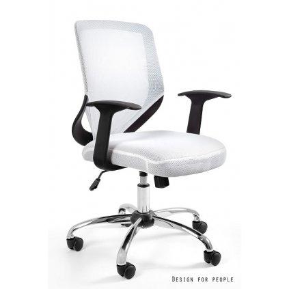 Kancelárska stolička Mobi - biela