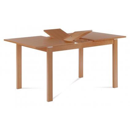 Jedálenský stôl rozkladací 120 + 30x80 cm, farba buk