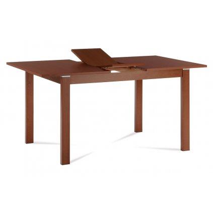 Jedálenský stôl rozkladací 120 + 30x80 cm, farba čerešňa