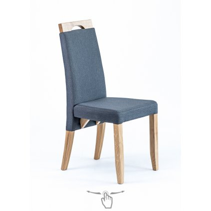 Jedálenská stolička Nergo - dub