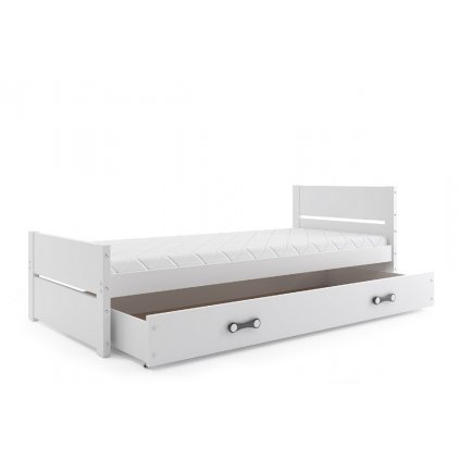 139021 4 detska postel aztek biela