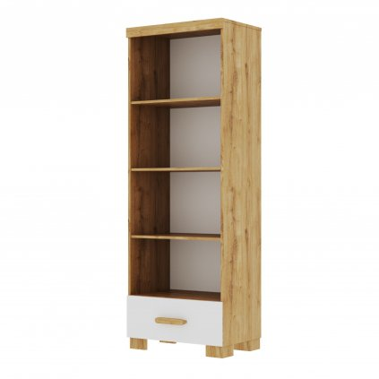 Oakie bookcase white