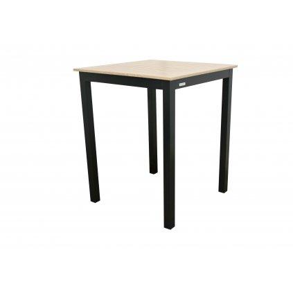 EXPERT WOOD antracit - gastro barový hliníkový stôl 90x90x110cm