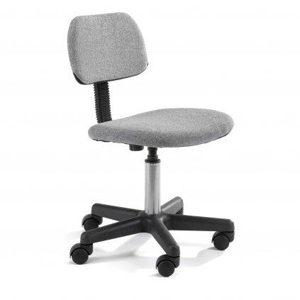 142537 fotel dzieciecy fd 1 materialowy sivá
