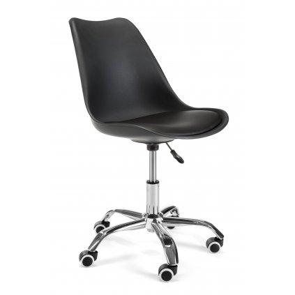 142561 fotel do biurka dzieciecy fd005 čierna