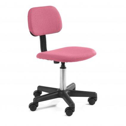 142582 fotel dzieciecy fd 1 materialowy rozowy