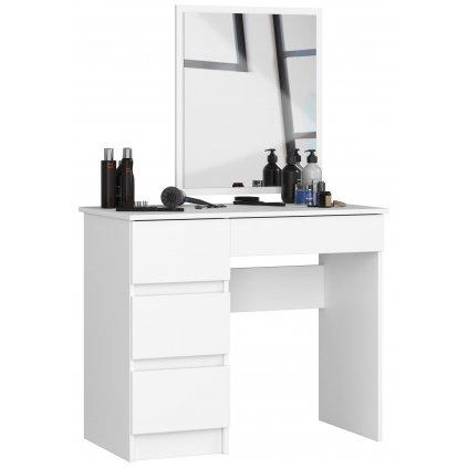 144307 toaletka kosmetyczna z lustrem t 6 sl 500x600 lewa biala