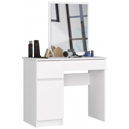 144319 toaletka kosmetyczna z lustrem p 2 sl 500x600 lewa biala