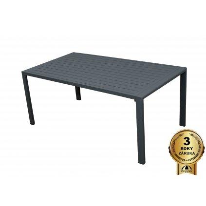 Morissa - záhradný hliníkový stôl 130 x 70 x 55 cm