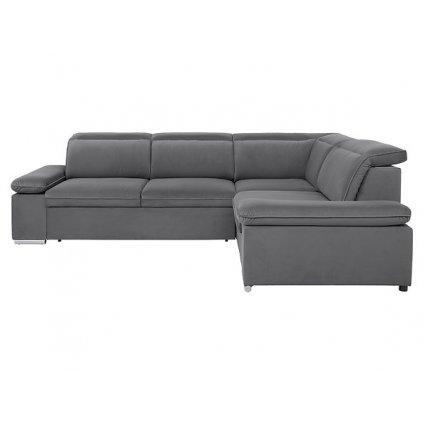 Rohová sedacia súprava: DARBY 2F.E.1,5BK (sivá)