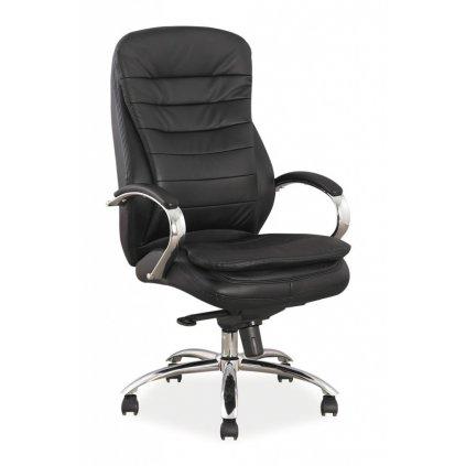Kancelárska stolička:   Q-154 koža