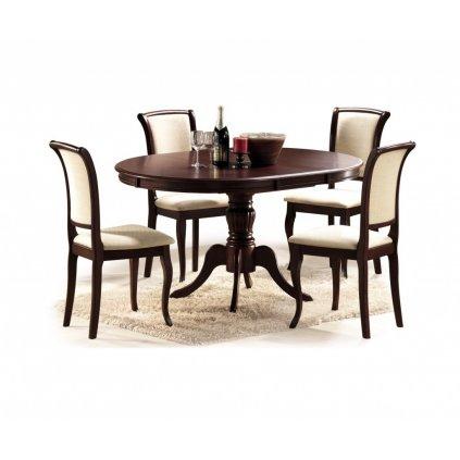 Rozkladací jedálenský stôl:   OLIVIA