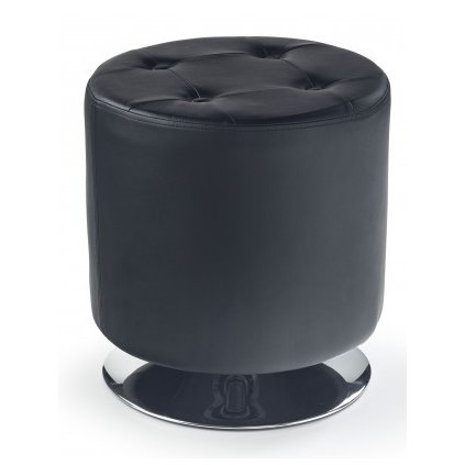 Taburetka:   DORA čierna