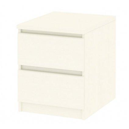 Nočný stolík Simplicity 291 biely woodgrain