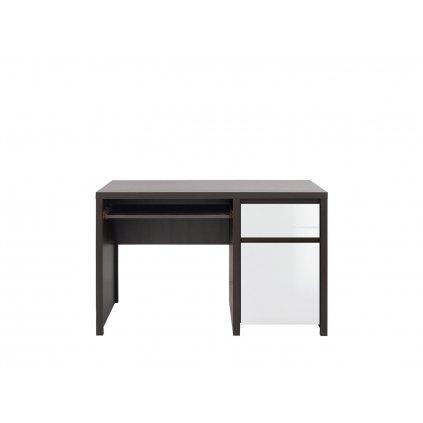 Kancelársky stôl: KASPIAN - BIU1D1S/120 (Farba wenge)