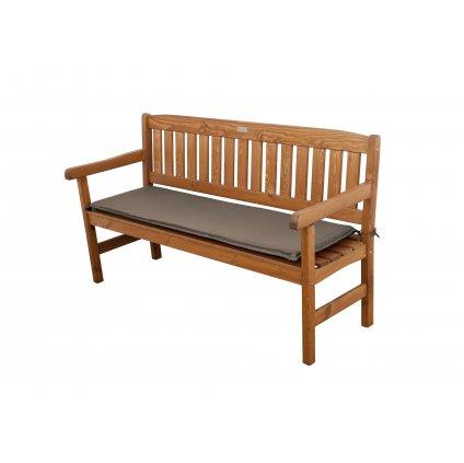 Sedák HIT UNI na 2 sedadlovú lavicu 120x45x5 cm