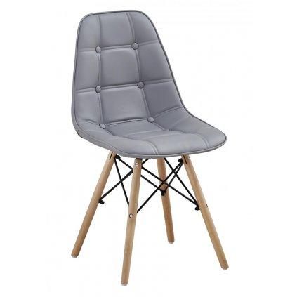 Jedálenská stolička Arizona sivá