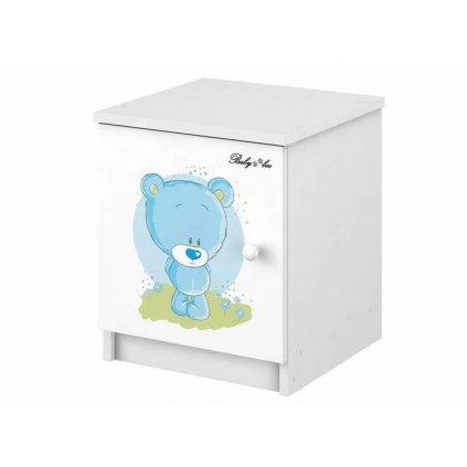 Babyboo Nočný stolík - Macko modrý