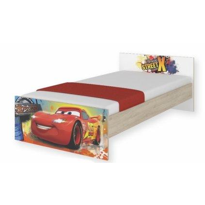 BabyBoo Detská junior posteľ Disney 180x90cm - Cars, D19