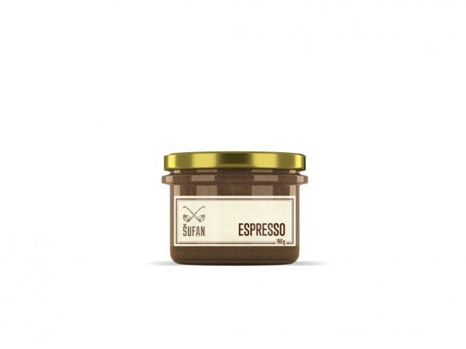 espresso máslo Šufánek