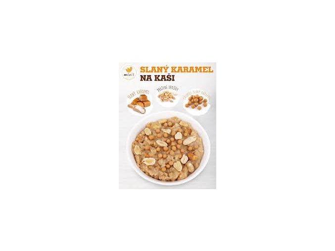 slaný karamel na kaši
