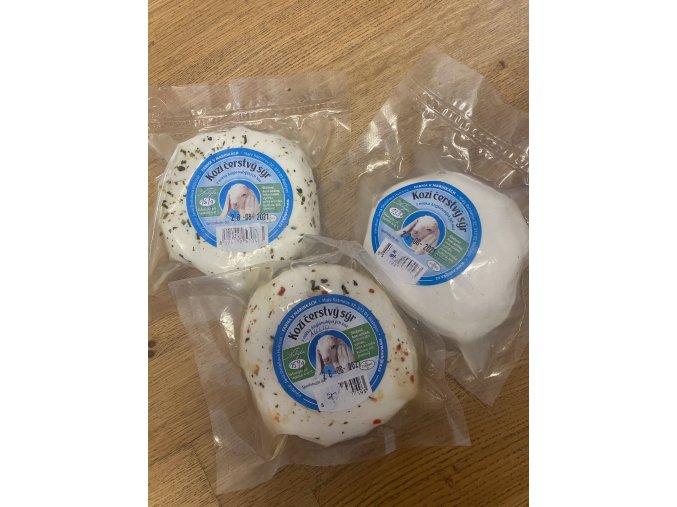 Kozí čerstvý sýr cca 160 g