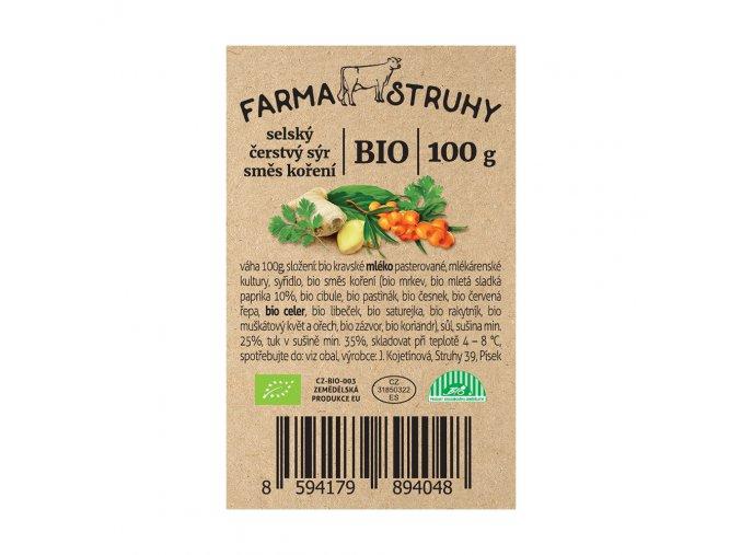BIO selský sýr - směs koření 100 g