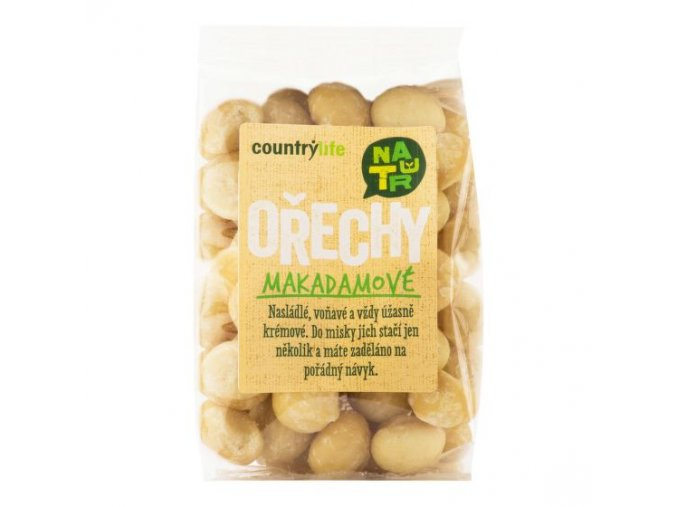 Makadamové ořechy 80 g