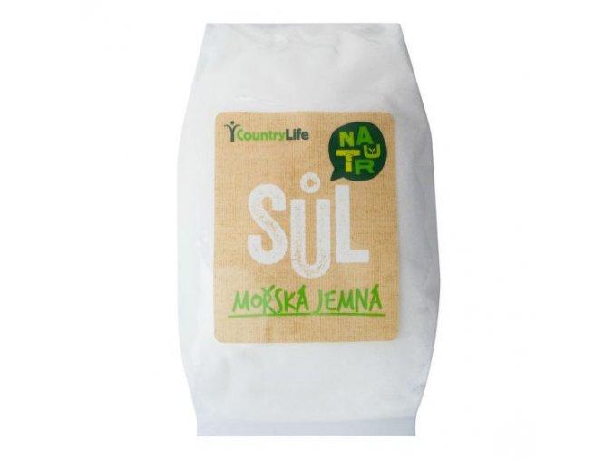 Sůl mořská jemná 1 kg