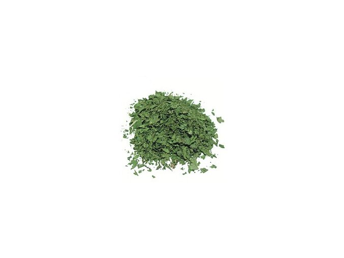 jednodruhove koriandr listky
