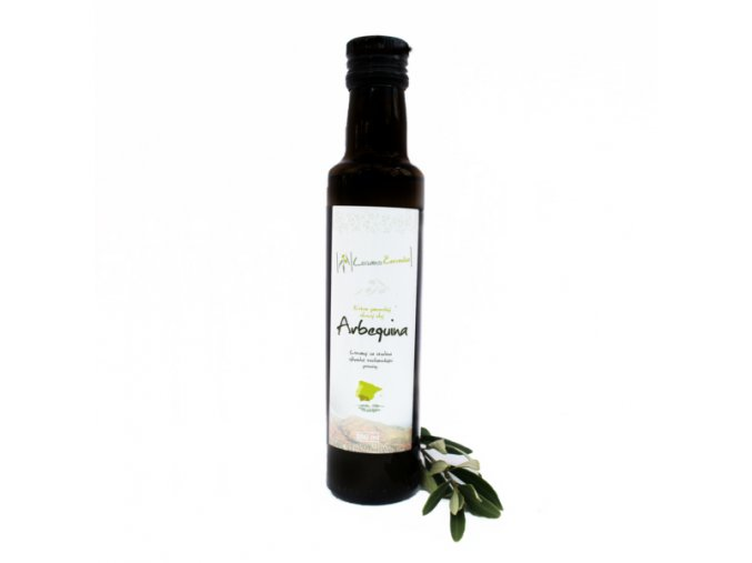 Arbequina 250ml listy (1)