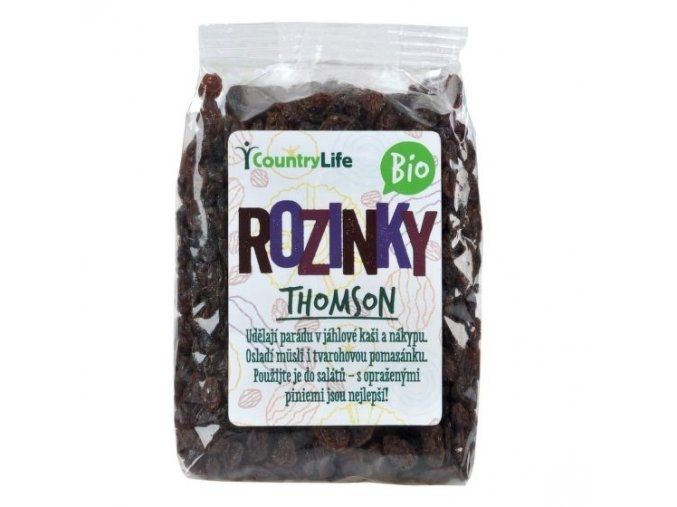 Rozinky Thomson 100 g BIO