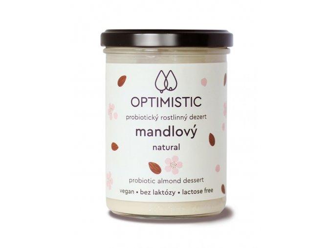 Optimistic probiotický dezert bílý 375 g