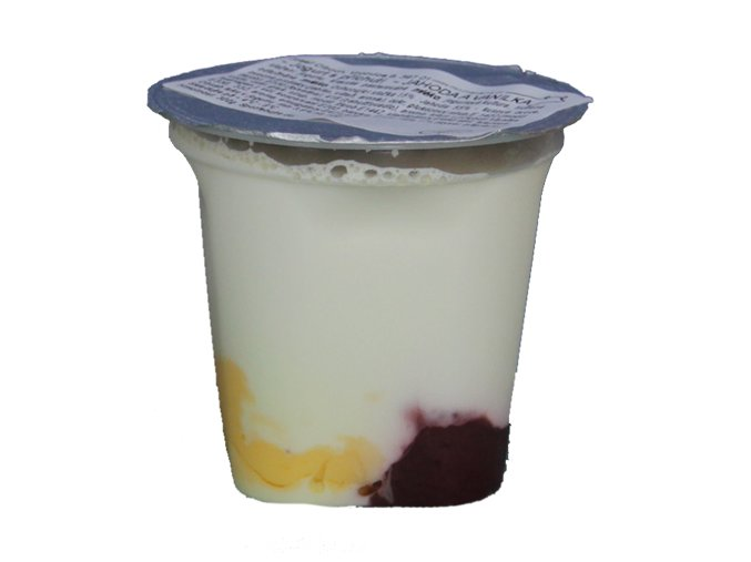 jogurt jahoda vanilka