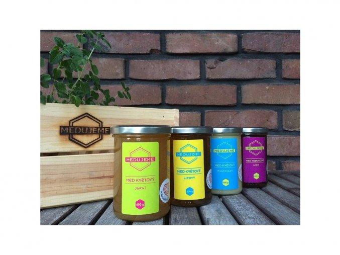 Medy od p.Šiky - různé druhy